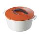 Revol® Revolution Orange Round Casseroles