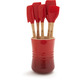 Le Creuset® Cherry 6-Piece Revolution® Tools Set