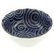 Kotobuki Blue Spirals Dip Dish, 3 oz.