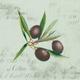 Olive Branch Paper Cocktail Napkins