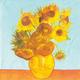 Van Gogh Sunflowers Paper Cocktail Napkins