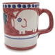 Hand-Painted Italian Pig Mug
