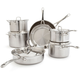 Le Creuset® 3-Ply 12-Piece Stainless Steel Cookware Set