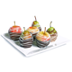 Chocolate Dipped Apples and Pears, Box of 6
