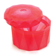 Silicone Zone Diamond Ice Cube, Red