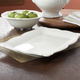 Baroque White Rectangular Serving Platter