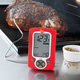 Taylor® Red Weekend Warrior Digital Grilling Thermometer with Folding Probe,