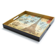 Paris Decoupage Serving Tray, 12½