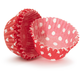 Mini Red Polka-Dot Bake Cups, Set of 40