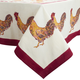 Couleur Nature Rooster Printed Tablecloths