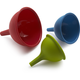 Sur La Table Silicone Funnels, Set of 3