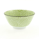 Kotobuki Green Spiral Soup Bowl, 12 oz.