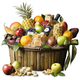 The Fruit Company® Ultimate Fruit Nut and Chocolate Gift Basket