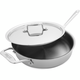 All-Clad d5 Brushed Stainless Steel Sauté Pan, 3 qt.