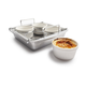 Chicago Metallic Crème Brûlée Set, 5 pieces
