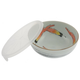 Kotobuki Chili Pepper Soup Bowl with Lid