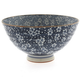 Kotobuki Blue Floral Rice Bowl, 8 oz.