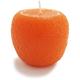 Orange-Shaped Candle