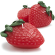 Strawberry-Shaped Candles, Set of 3