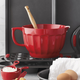 Sur La Table® Red Batter Bowl, 4 qt.