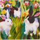 Blossom Bunny Paper Luncheon Napkins