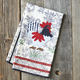 Rooster Toile Kitchen Towel