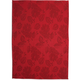 Red Leaf Jacquard Kitchen Towel