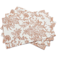 Copper Autumn Floral Placemat