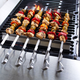 Sur La Table® Kabob Skewers with Grilling Rack