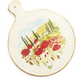 Tuscan Poppies Cheese Paddle