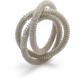 Silver Mesh Napkin Ring