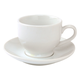 Blanc Espresso Cup and Saucer Set, 3 oz.