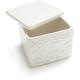 Provençal Stoneware Salt Box