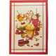 Sweet Desserts Italian Kitchen Towel, 28