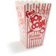 Retro Paper Popcorn Boxes
