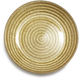 Gold Glass Rope Plate, 6