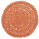 Pumpkin Woven Paper Placemat