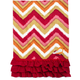 Red Zig Zag Vintage-Inspired Kitchen Towel