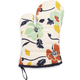 Wallpaper Floral Vintage-Inspired Oven Mitt