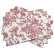 Cranberry Autumn Floral Placemat