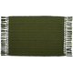 Olive Cotton Ribbed Placemat