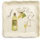 Roma Italian Wine Appetizer Plate