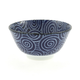 Kotobuki Blue Spiral Soup Bowl, 12 oz.