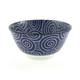 Kotobuki Blue Spiral Soup Bowl, 12 oz.