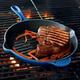 Le Creuset® Cobalt Round Grill Pan