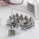 Salt & Pepper Shakers with Caddy, Set of 12