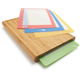 Casabella Chop 'n Prep Bamboo Cutting Surface with 4 Cutting Boards