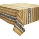 Vent du Sud Soleil Tamaris Printed Teflon Tablecloth, 63