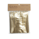 Gold-Striped Cellophane Treat Bags,  Large, Set of 12