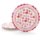 Meri Meri Valentine Hearts Paper Plates, Set of 12
